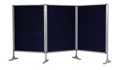 Ścianka ekspozycyjna tekstylna VITTORIA 120x160cm 6618