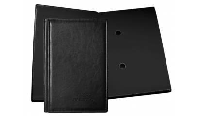 Teczka do podpisu WARTA 10 kart oprawa skóropodobna czarna 1824-920-041