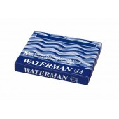 Naboje do piór WATERMAN długie niebieskie (8szt)