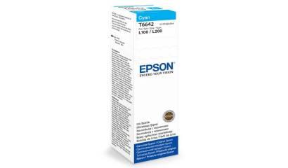 Tusz EPSON T6642 Cyan (L10/200/300/550) 70ml