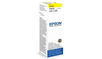 Tusz EPSON T6644 Yellow (L10/200/300/550) 70ml