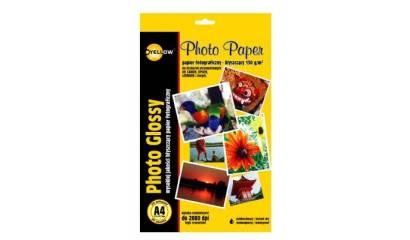 Papier fotograficzny YELLOW ONE A4 130g błyszczący 4G130 (20ark)