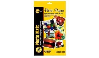 Papier fotograficzny YELLOW ONE A4 140g matowy 4M140 (50ark)