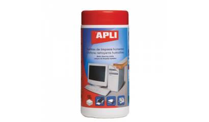 Ściereczki do czyszczenia plastiku APLI (100szt) AP11822