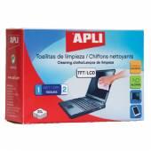 Chusteczki do czyszczenia ekranów APLI TFT-LCD (20) AP11828