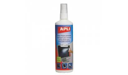 Spray do czyszczenia ekranów APLI 250ml AP11827