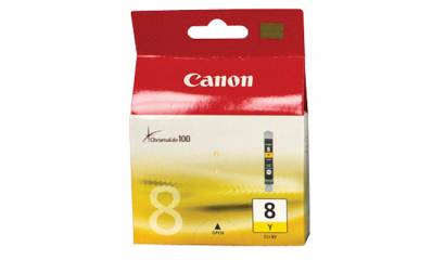 Głowica CANON CLI-8Y Yellow (IP4200/IP6600/MP500) 420str.