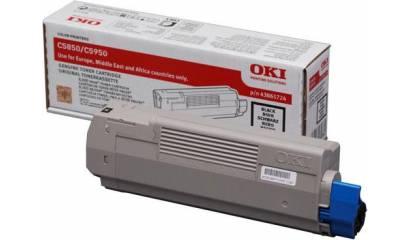 Toner OKI 43865724 (C5850/C5950) Black 8K