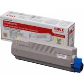 Toner OKI 43865721 Yellow (C5850/C5950)  6K