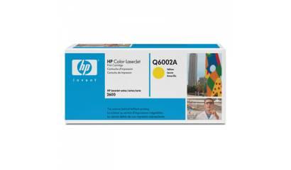 Toner HP Q6002A Yellow (CLJ1600/2600/CM1015) 2K