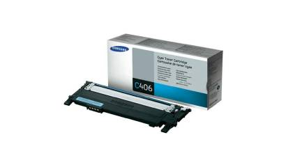 Toner SAMSUNG CLT-C406S Cyan (CLP360/365) 1K