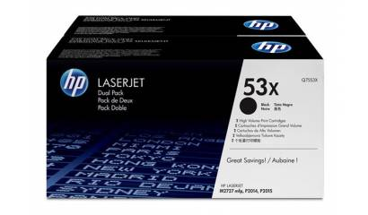 Toner HP Q7553XD Black (LJ2015/2014) 7K (2pack)