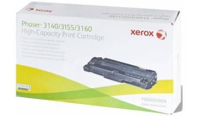 Toner XEROX 108R00909 black (Phaser3140/3155/3160) 2.5K