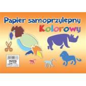Zeszyt papierów kolorowych POLIGRAF A5/8k