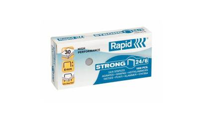 Zszywki RAPID Strong 24/6 1M (1000)