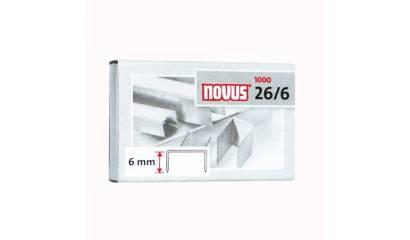 Zszywki NOVUS 26/6 (1000) 040-0056
