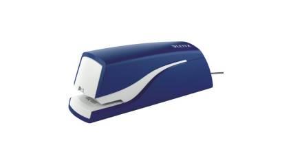 Zszywacz elektryczny LEITZ 5532-35 niebieski 10k 10''