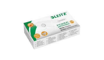 Zszywki LEITZ 24/6 Białe (1000) 55540000