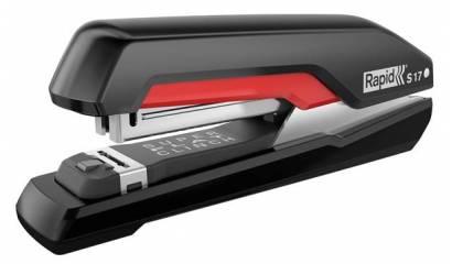 Zszywacz RAPID Supreme S17 Super FC czarno-czerwony 30k