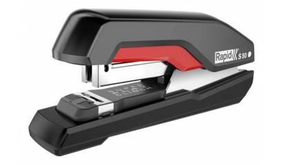 Zszywacz RAPID Supreme S50 Super FC czarno-czerwony 50k