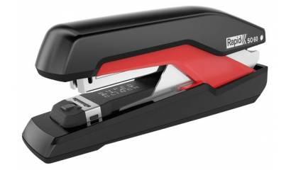 Zszywacz RAPID Supreme Omnipress™ SO60 Super FC czarno-czerwony 60k